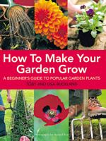 How to Make your Garden Grow