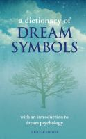 A Dictionary of Dream Symbols