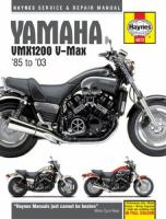 Yamaha VMX1200 V-Max Service and Repair Manual