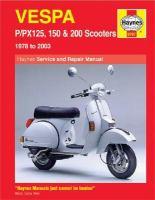 Vespa P/PX125, 150 & 200 Service and Repair Manual