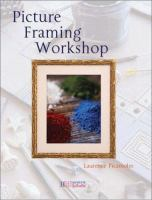 Picture Framing Workshop