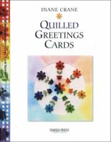 Handmade Quilled Greetings Cards