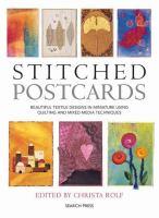 Stitched Postcards
