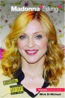 "Madonna ""talking"""
