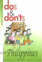 Dos and Don'ts in the Philippines