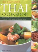 The After-work Thai Cookbook