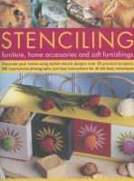 Stenciling Furniture, Home Accessories and Soft Furnishings