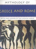 Mythology of Greece and Rome
