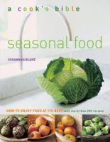 A Cook's Bible, Seasonal Food