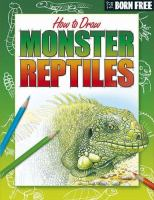 How to Draw Monster Reptiles