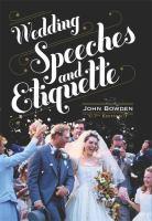 Wedding Speeches and Etiquette