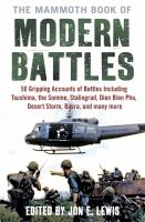 The Mammoth Book of Modern Battles