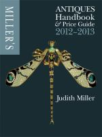 Miller's Antiques Handbook and Price Guide 2012-2013