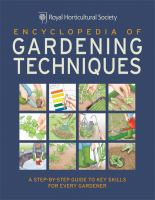 Encyclopedia of Gardening Techniques