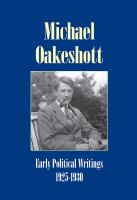 Early Political Writings, 1925-30