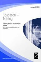 Learning Styles in Education and Training