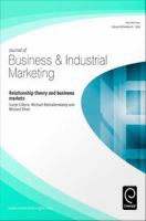 Relationship Theory and Business Markets
