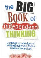 The Big Book of Independent Thinking