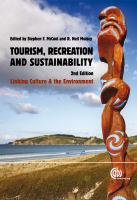 Tourism, Recreation, and Sustainability