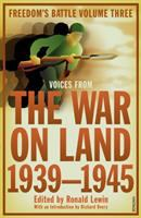 The War on Land, 1939-1945