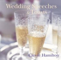Wedding Speeches & Toasts