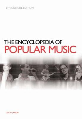 "Picture of the book cover for ""The Encyclopedia of Popular Music"""