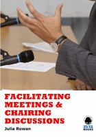 Facilitating Meetings & Chairing Discussions
