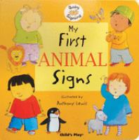 My First Animal Signs