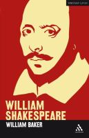 William Shakespeare (Writers' Lives)