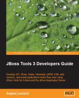 JBoss Tools 3 Developer's Guide