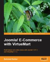 Joomla! E-commerce With VirtueMart