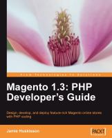Magento 1.3 : PHP Developer's Guide