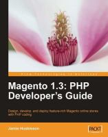 Magento 1.3 : PHP Developer's Guide