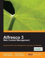 Alfresco 3 Web Content Management