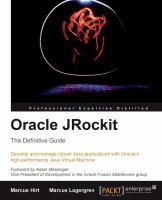 Oracle JRockit