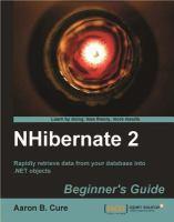 NHibernate 2 Beginner's Guide