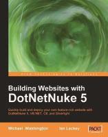 Building Websites With DotNetNuke 5