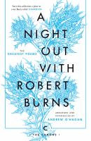 A Night Out With Robert Burns