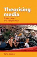 Theorising Media