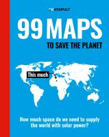 Image: 99 Maps to Save the Planet