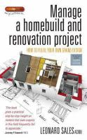 Manage A Homebuild and Renovation Project