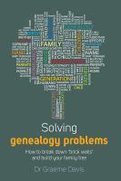 Solving Genealogy Problems