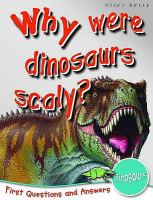 Why Were Dinosaurs Scaly?