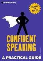 Confident Speaking