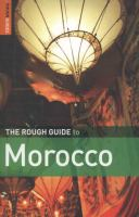 Rough guide to Morocco book cover