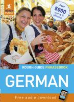 The Rough Guide German Phrasebook