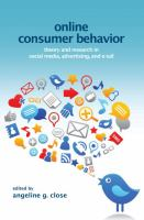 Online Consumer Behavior