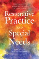 Restorative Practice and Special Needs