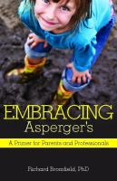 Embracing Asperger's