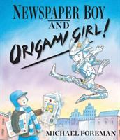 Newspaper Boy and Origami Girl!